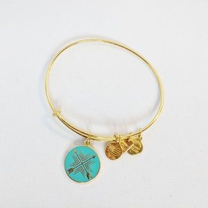"Alex and Ani Gold Bracelet ""Arrows of Friendship"""